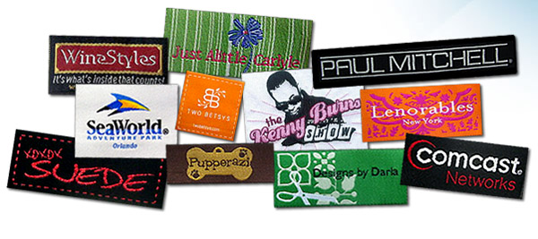 Online Design Clothing Labels Custom Woven Clothing Labels